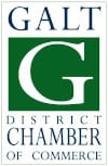 Galt District Chamber of Commerce Badge